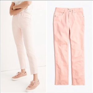Madewell Crops Size 32